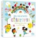 Julie Mercier et Emilie Lapeyre - Mes 100 activités créatives - Colle, découpe, dessine, colorie, + de 250 stickers.