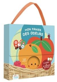 Julie Mercier - Mon panier des odeurs - Avec 3 livres et 15 odeurs de fruits.