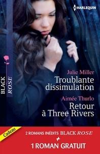 Julie Miller et Aimée Thurlo - Troublante dissimulation - Retour à Three Rivers - Passion pour un privé - (promotion).