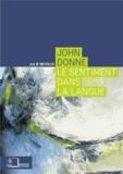 Julie Neveux - John Donne - Le sentiment dans la langue.