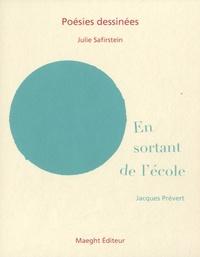 Julie Safirstein - En sortant de l'école.