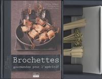 Julie Schwob - Brochettes gourmandes pour l'apéritif.