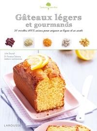Julie Soucail et Florence Solsona - Gâteaux légers et gourmands - 50 recettes 100 % saines pour soigner sa ligne et sa santé.