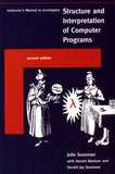 Julie Sussman - Structure and Interpretation of Computer Programs - Instructor's Manual to Accompany.