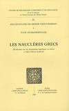 Julie Velissaropoulos - Les Nauclères grecs - Recherches sur les institutions maritimes en Grèce et dans l'Orient hellénisé.