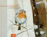 Julie Wintz-Litty - L'agenda des Oiseaux de nos montagnes.