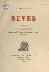 """Julien-Albert Carré et Georges Fourest - Sèves - Bandeaux et culs de lampe de la collection """"Poésie""""."""