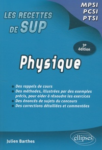 Julien Barthes - Physique - Classes prépas MPSI-PCSI-PTSI.