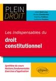 Julien Béal-Long et Nicolas Chambardon - Les indispensables du droit constitutionnel.