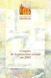 Julien Bechtel et Laurent Caussat - Comptes de la protection sociale en 2003.