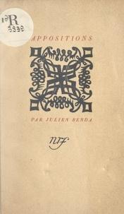 Julien Benda - Appositions.