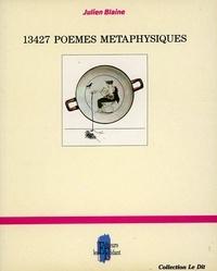 Julien Blaine - 13427 Poëmes métaphysiques.