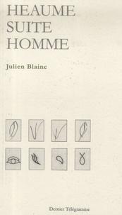 Julien Blaine - Heaume suite homme.