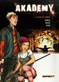 Julien Blondel et Anne Rouvin - Akademy  : Pack 2 volumes : Tome 1, La cour des grands ; Tome 2, A balles réelles.