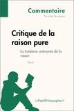 Julien Bourbiaux et  LePetitPhilosophe.fr - Critique de la raison pure de Kant - La troisième antinomie de la raison (Commentaire) - Comprendre la philosophie avec lePetitPhilosophe.fr.