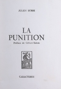 Julien Burri et Gilbert Salem - La punition.