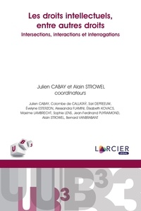 Julien Cabay et Alain Strowel - Les droits intellectuels, entre autres droits - Intersections, interactions et interrogations.