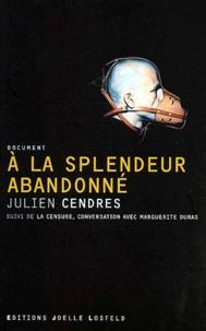 Julien Cendres - .