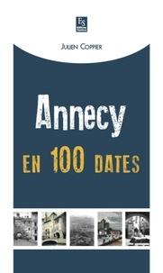 Julien Coppier - Annecy en 100 dates.