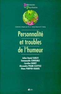 Julien-Daniel Guelfi - Personnalité et troubles de l'humeur.