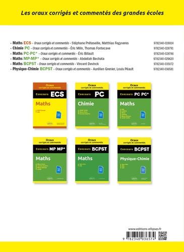 Mathématiques Concours PC/PC*, PSI/PSI*, PT/PT* et BCPST X et ENS  Edition 2020