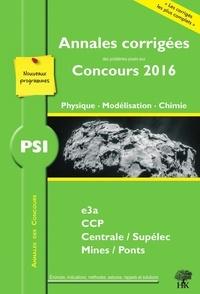Julien Dumont et Vincent Freulon - PSI Physique, Modélisation, Chimie.