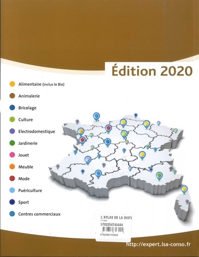 L'atlas de la distribution  Edition 2020