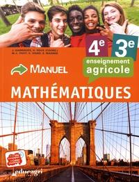 Julien Garrigues et Marie-Laure Pavy - Mathématiques 4e/3e enseignement agricole - Manuel.