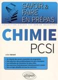 Julien Gérard - Chimie PCSI.