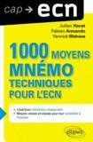 Julien Havet et Fabien Armando - 1000 moyens mnémotechniques pour l'ECN.