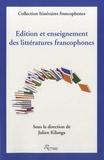 Julien Kilanga - Edition et enseignement des littératures francophones.
