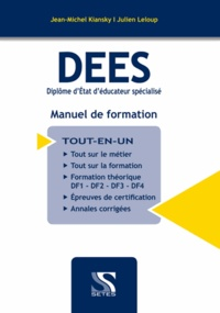 Deedr.fr DEES - Diplôme d'Etat d'Educateur Spécialisé - Manuel de formation Image