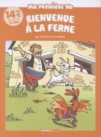 Julien Mariolle et Richard Di Martino - Ma première BD  : Bienvenue à la ferme - Pack en 2 volumes : La petite poule rousse ; La chèvre de M. Seguin.