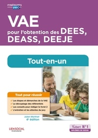 Julien Martinet - VAE pour l'obtention des DEES, DEASS, DEEJE - Préparation complète pour réussir sa formation - Éducateur spécialisé, Assistant de service social, Éducateur de jeunes enfants.