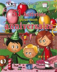 Accentsonline.fr 51 activités pour mon anniversaire Image