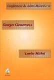 Julien Molard - Louise Michel, Georges Clemenceau - Deux attitudes face à la Commune.
