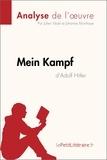 Julien Noël et Johanne Morrhaye - Mein Kampf d'Adolf Hitler (Analyse de l'oeuvre) - Comprendre la littérature avec lePetitLittéraire.fr.