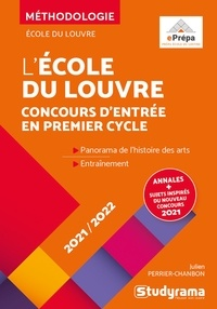 Julien Perrier-Chambon - Concours d'entrée de l'Ecole du Louvre.