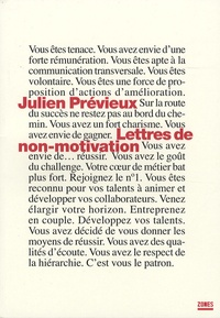 Julien Previeux - Lettres de non-motivation.