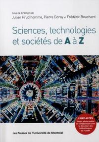 Julien Prud'homme et Pierre Doray - Sciences, technologies et sociétés de A à Z.