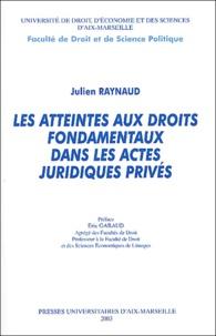 Atteintes aux droits fondamentaux dans les actes juridiques privés.pdf