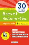 Julien Ruffinatto et Cédric Oline - Brevet Histoire-Géo 3e toutes séries.