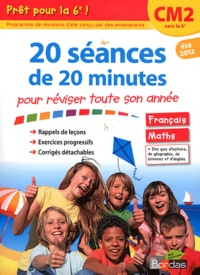 Julien Salmon - 20 séances de 20 minutes pour réviser toute son année - Prêt pour la 6e !.