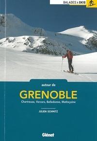 Autour de Grenoble- Chartreuse, Vercors, Belledonne, Mateysine - Julien Schmitz pdf epub