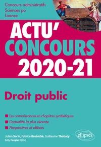 Droit public- Cours et QCM - Julien Sorin |