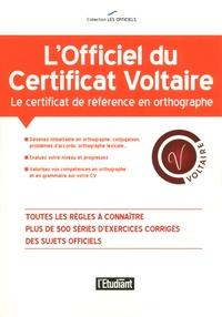 Julien Soulié - L'officiel du certificat Voltaire.