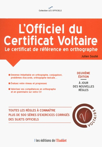 L'officiel du certificat Voltaire 2e édition
