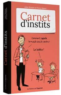 Téléchargement de livres audio pour ipad Carnet, d'instits 9782360757626