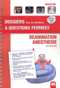 Julien Vaccaro - Réanimation anesthésie - 73e à l'ECN 2011.