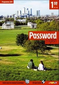 Juliette Ban-Larrosa - Anglais 1re B1-B2 Password english. 1 CD audio MP3